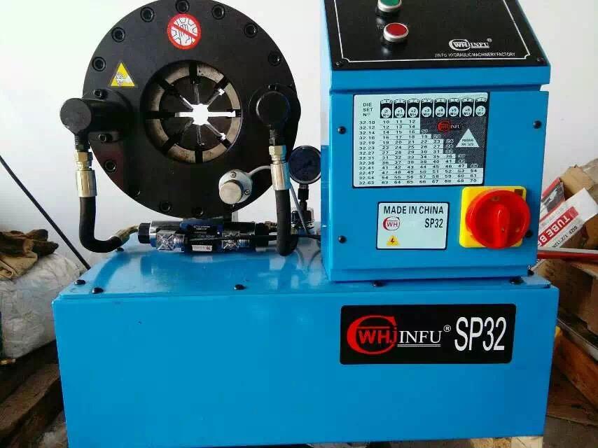 驻马店扣压机 钢管缩管机价格插图1