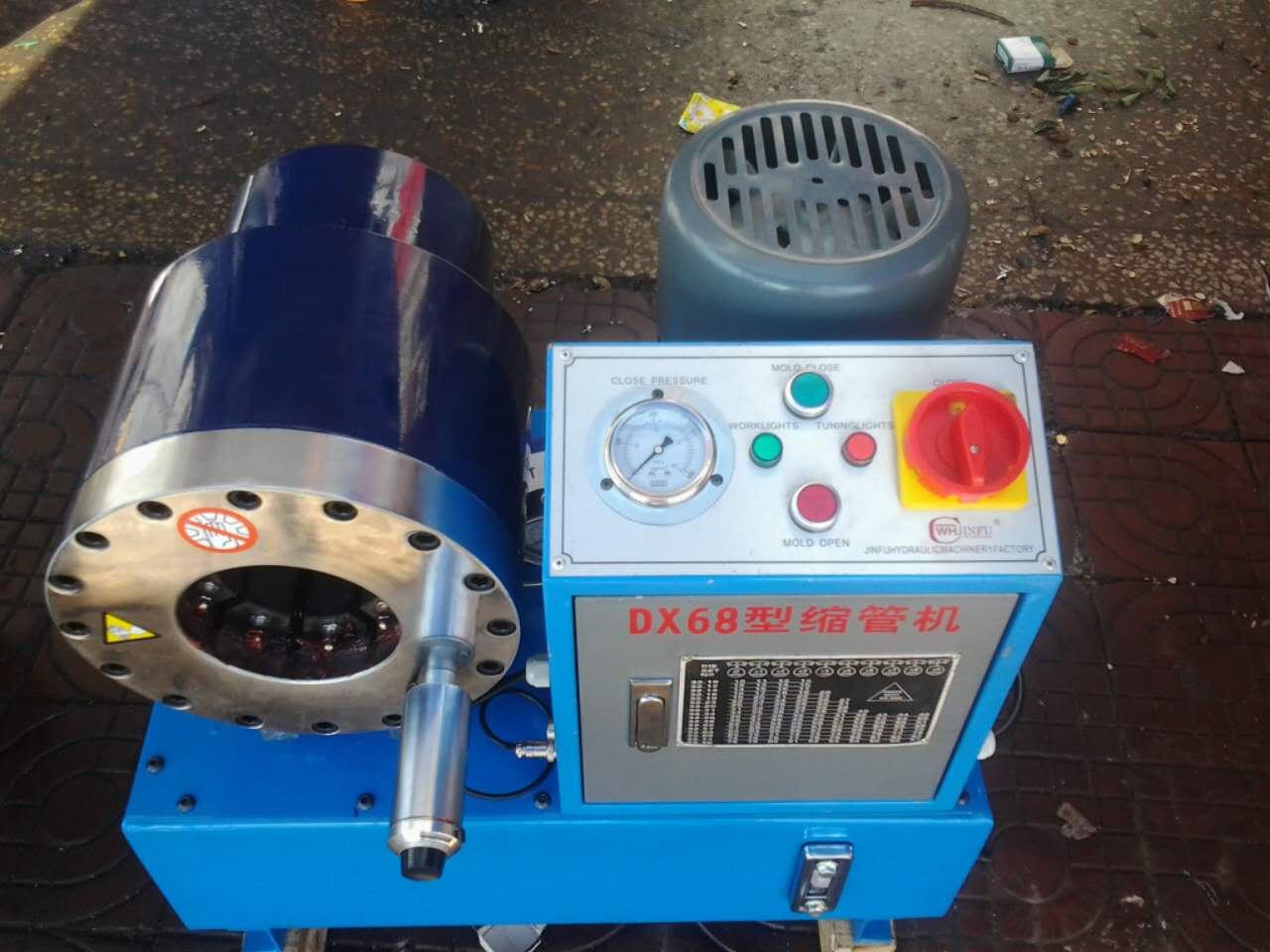 压管机推荐:SP32型号高压油管压管机