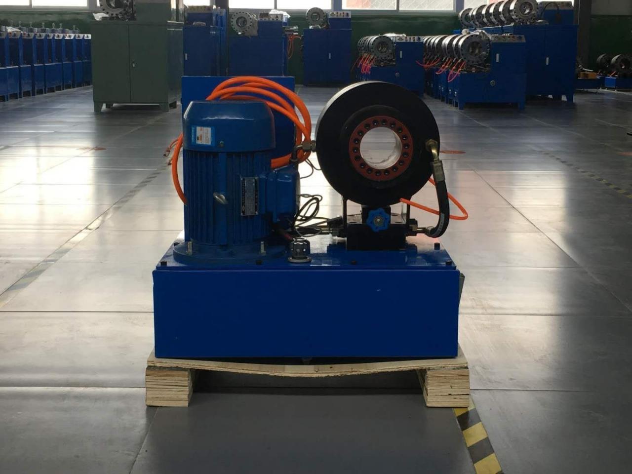 液压缩管机设计结构原理插图1