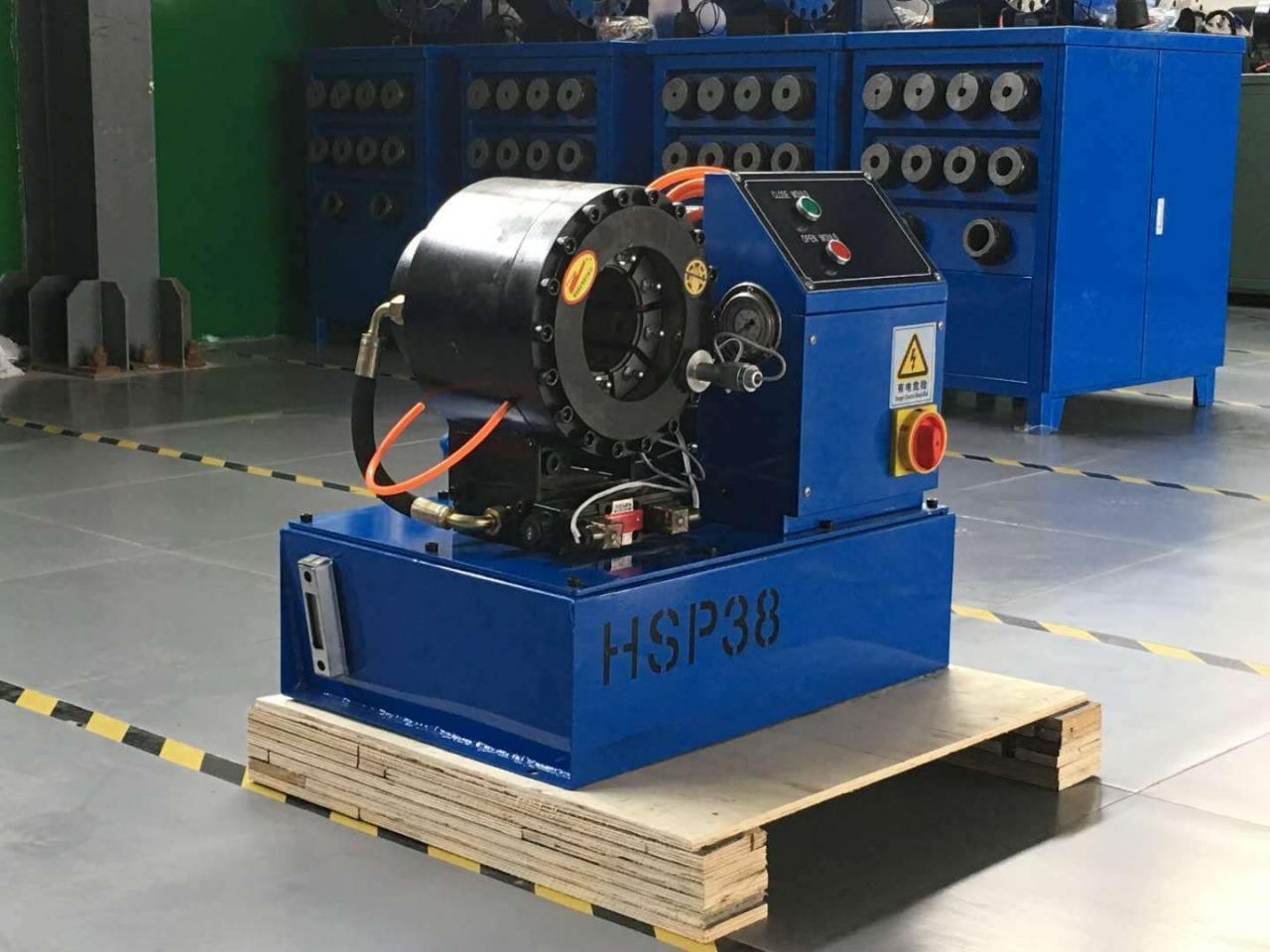 胶管扣压机在温室方面的应用及其扣压机的操作流程插图3