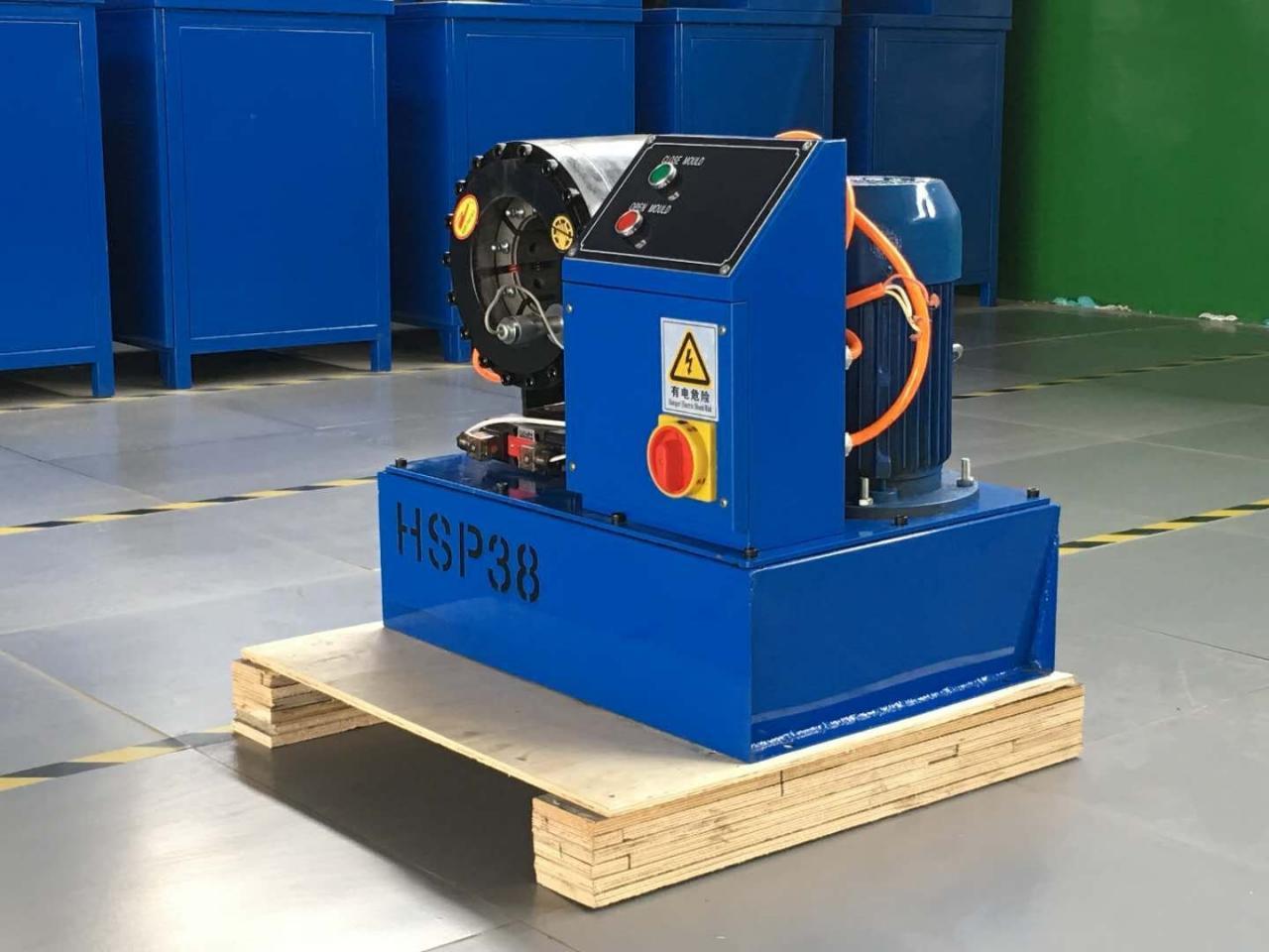 胶管扣压机在温室方面的应用及其扣压机的操作流程插图7